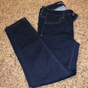 American Eagle cropped jeans!